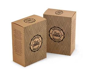 Kraft Card Boxes